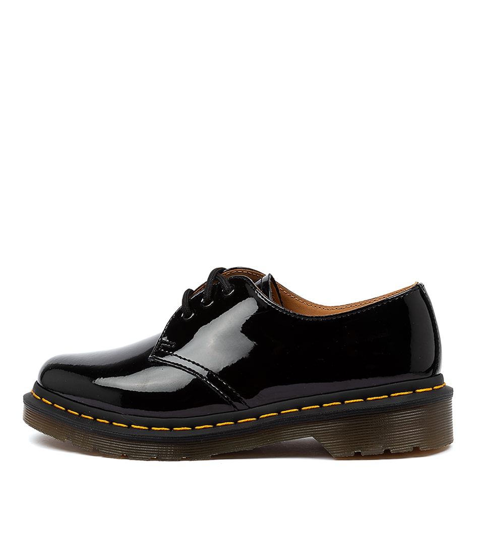 Buy Dr Marten 1461 3 Eye Womens Black Flats online with free shipping