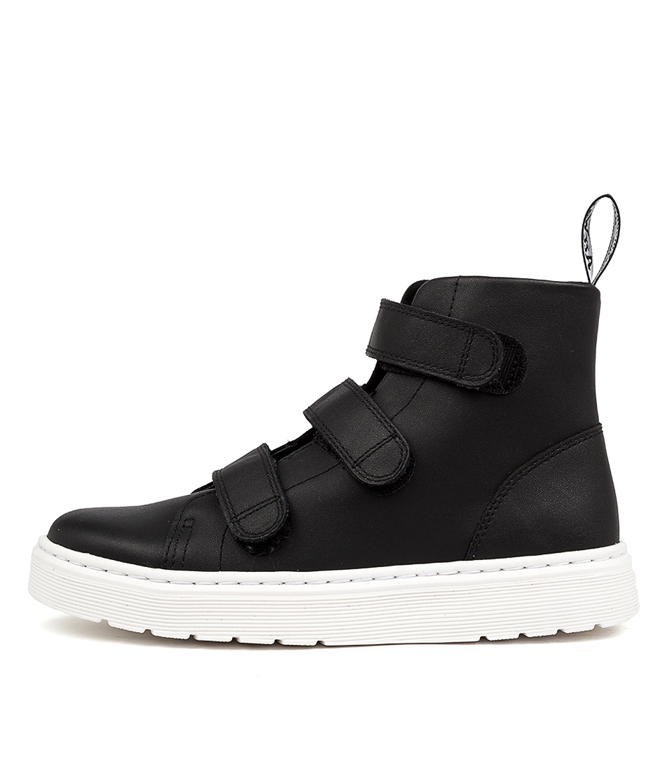 Buy Dr Marten Talib Strap Black Ankle Boots online with free shipping