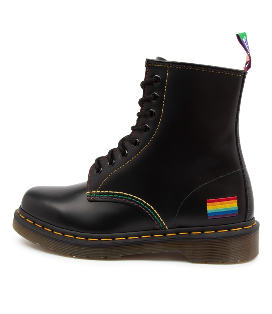 Buy Dr Marten 1460 Pride Boot Dm Black Ankle Boots online with free shipping
