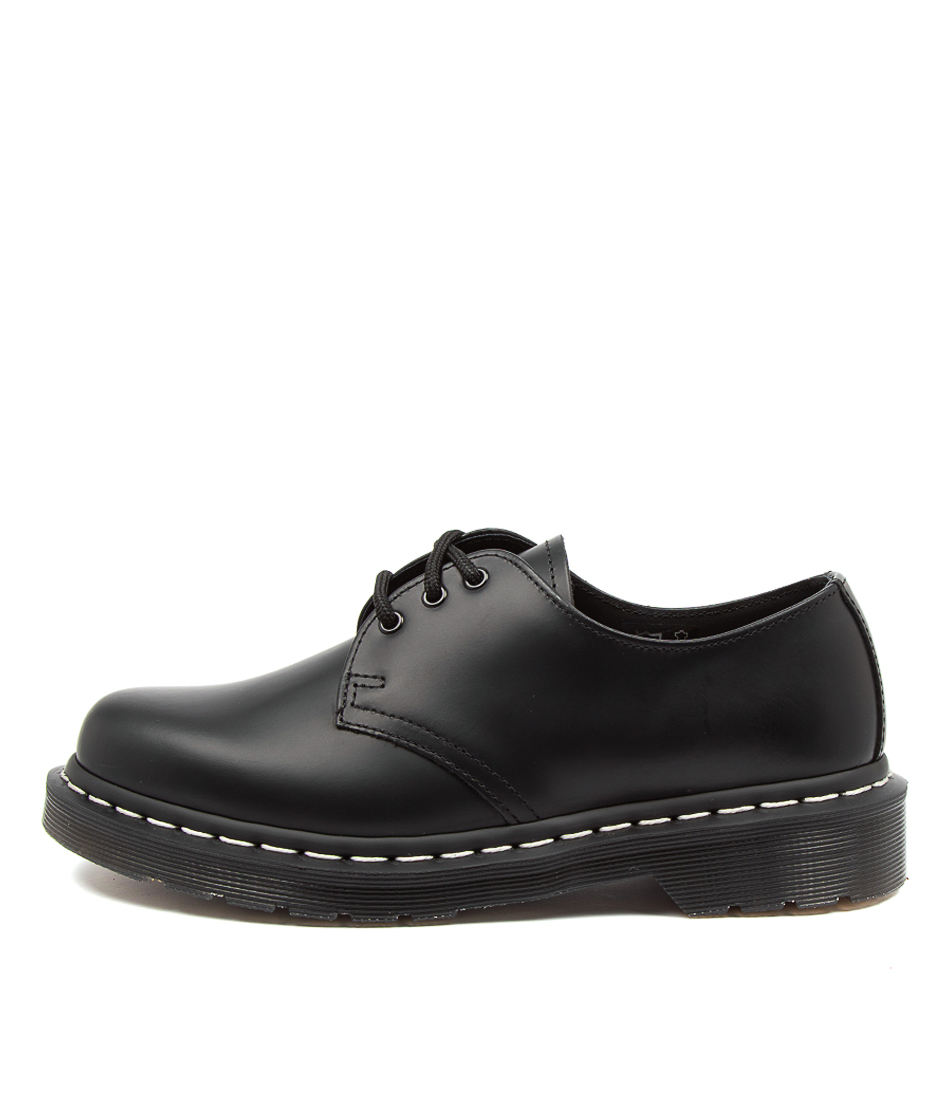 Buy Dr Marten 1461 Ws 3 Eye Womens Shoe Dm Black Flats online with free shipping