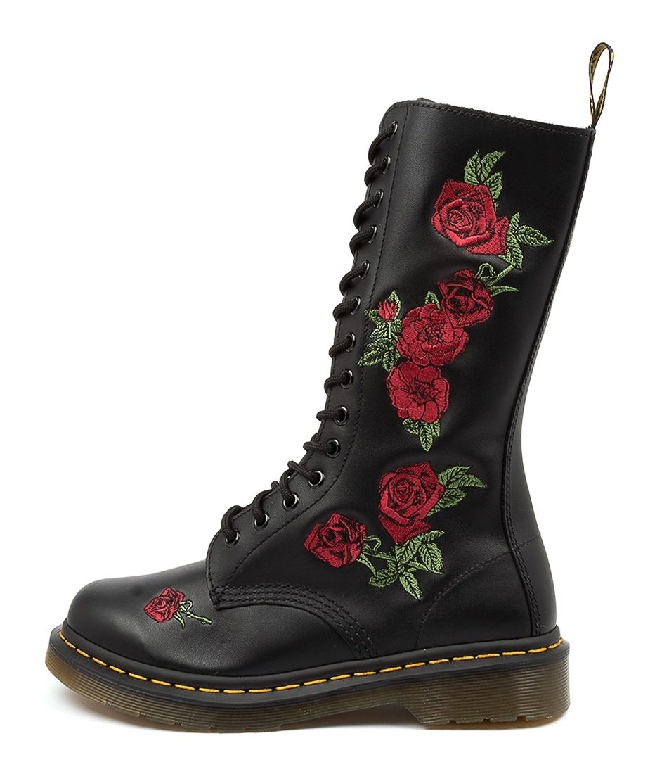 Buy Dr Marten 1914 Vonda Dm Black Calf Boots online with free shipping