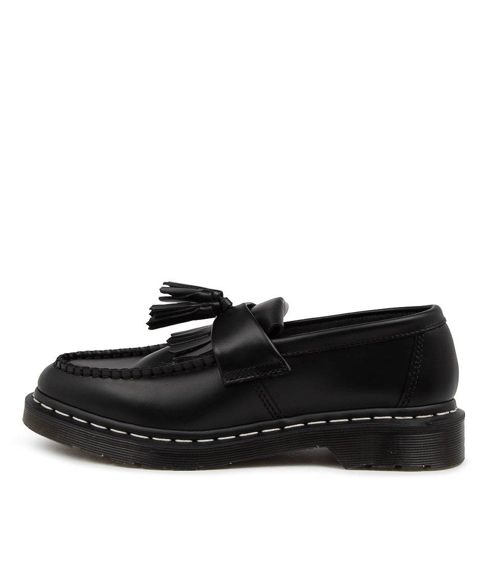 Buy Dr Marten Adrian Tassel Ws Loafer Dm Black Flats online with free shipping