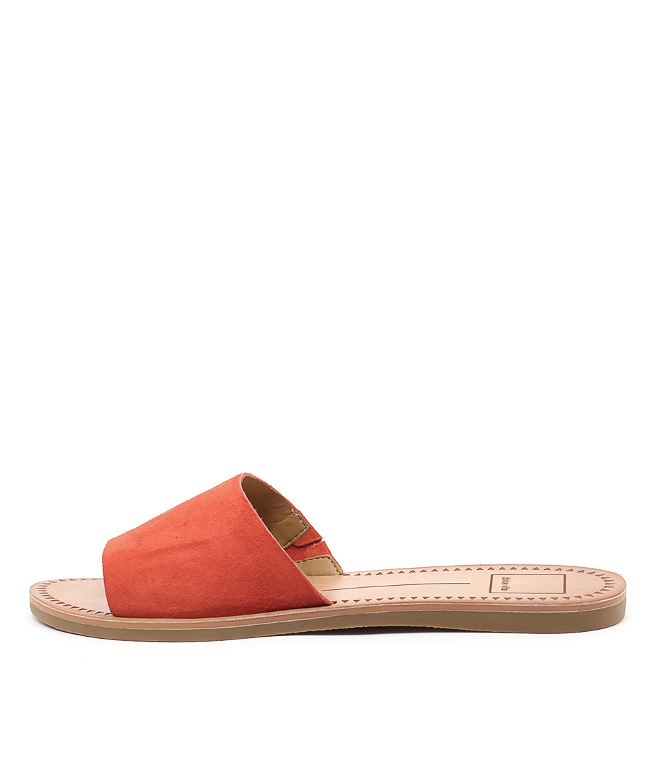 Dolce Vita Javier Red Orange Sandals
