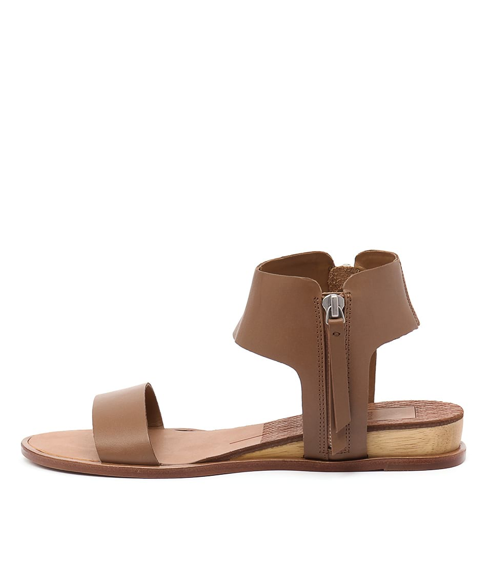 Dolce Vita Paris Caramel Casual Flat Sandals