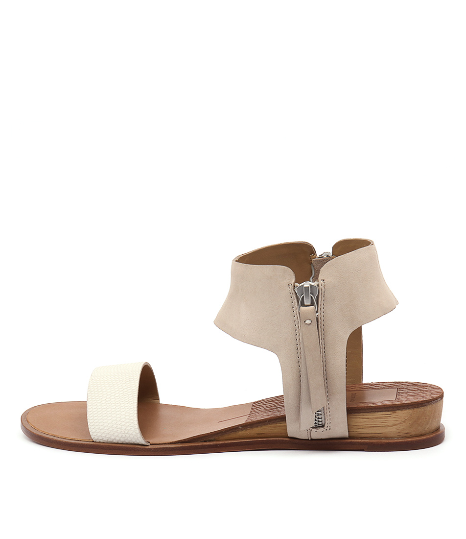 Dolce Vita Paris White Sandals