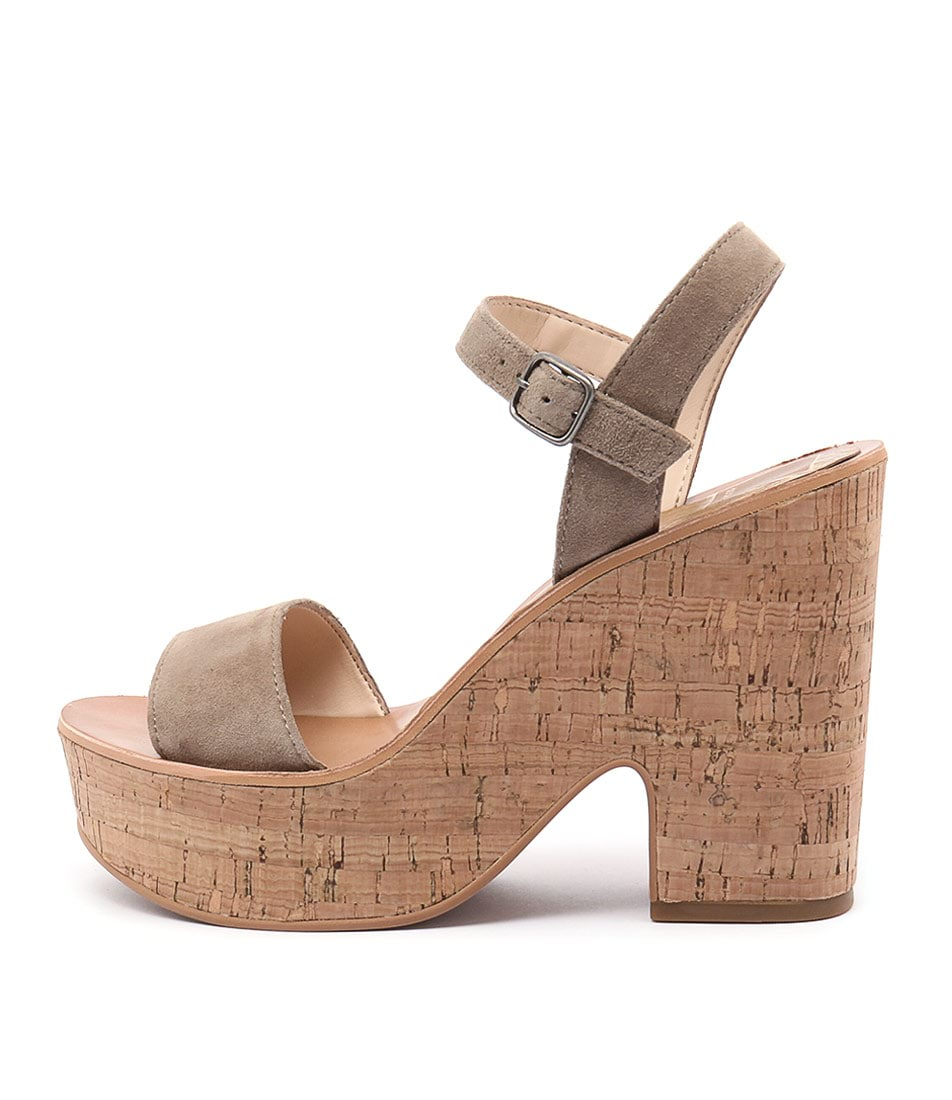 Dolce Vita Randi Latte Casual Heeled Sandals