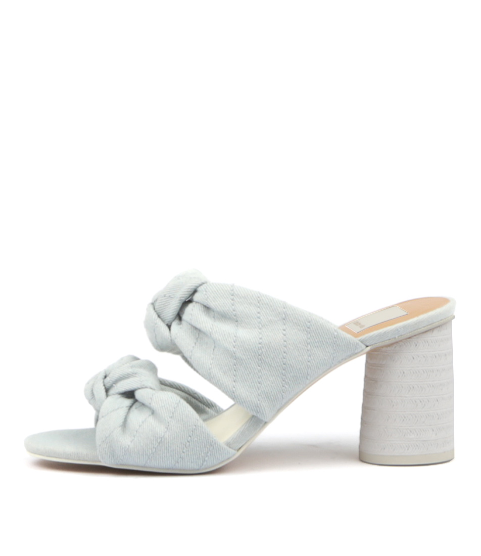 Buy Dolce Vita Jene Light Blue Heeled Sandals online with free shipping