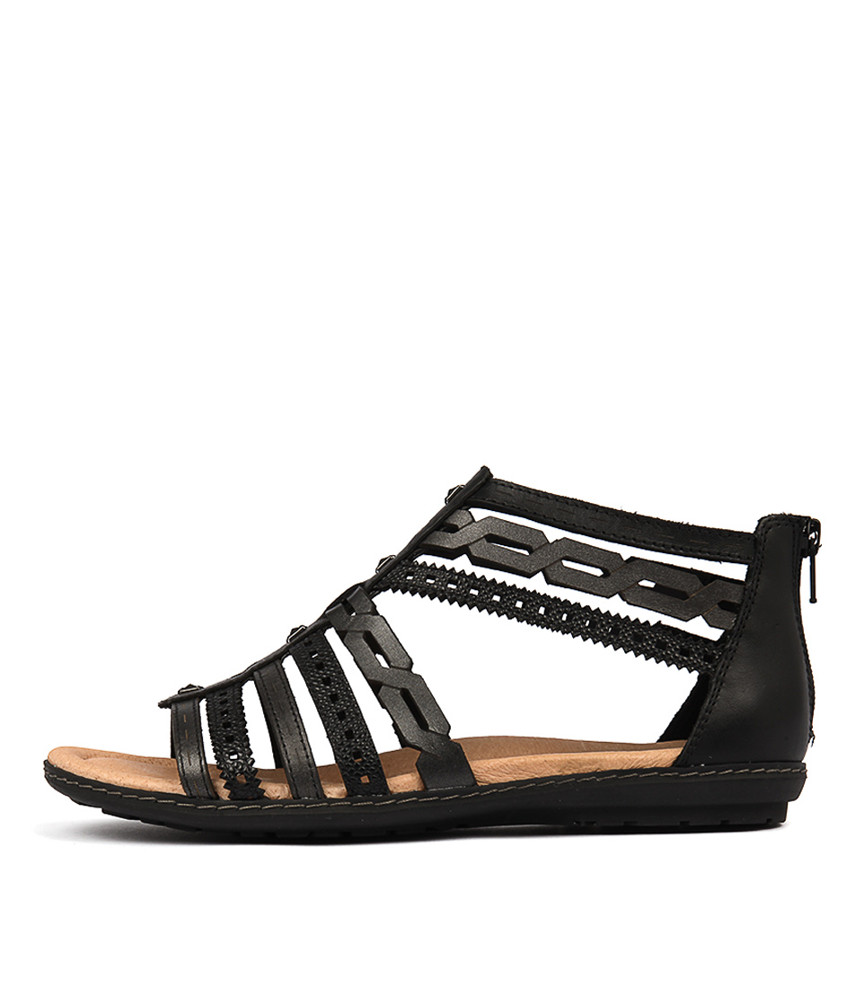 buy Earth Bay Ea Black Sandals shop Earth Sandals online