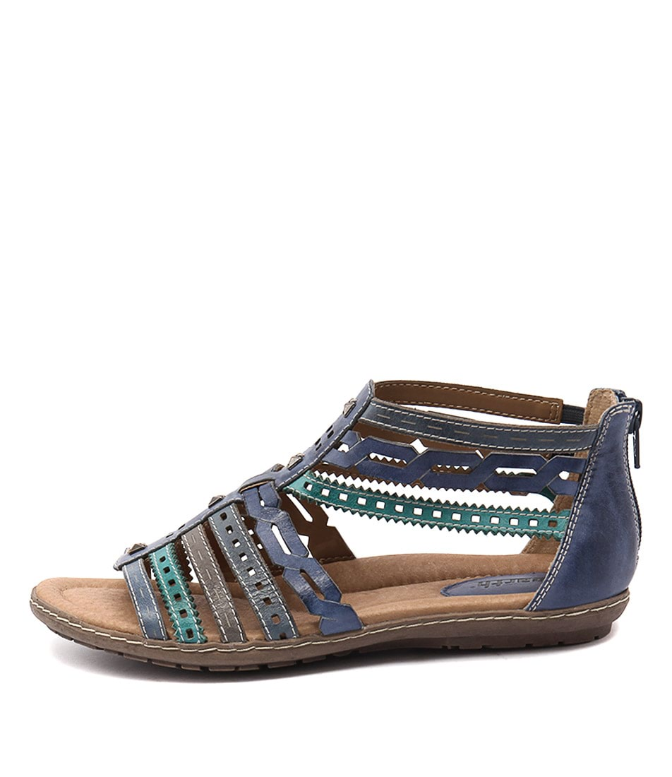 Earth Bay Ea Sapphire Blue Sandals