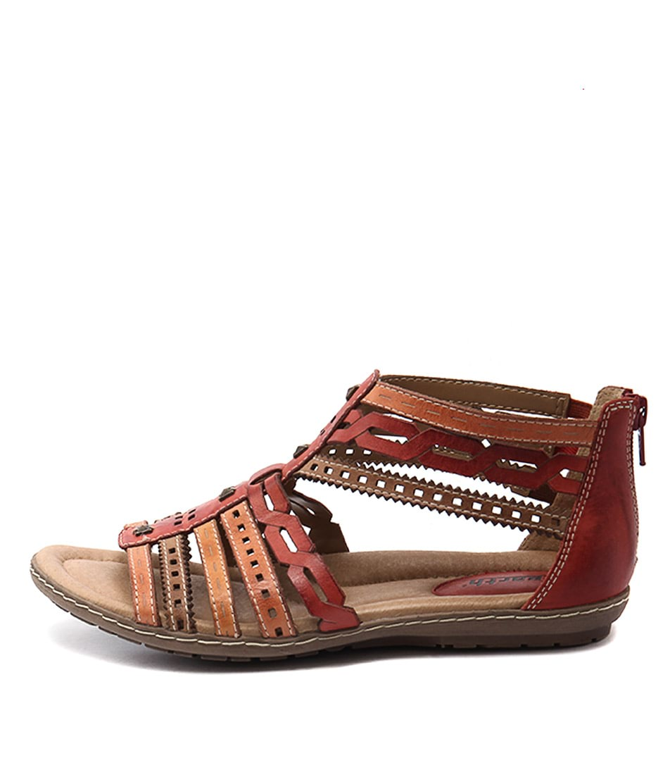 Earth Bay Ea Scarlet Multi Sandals