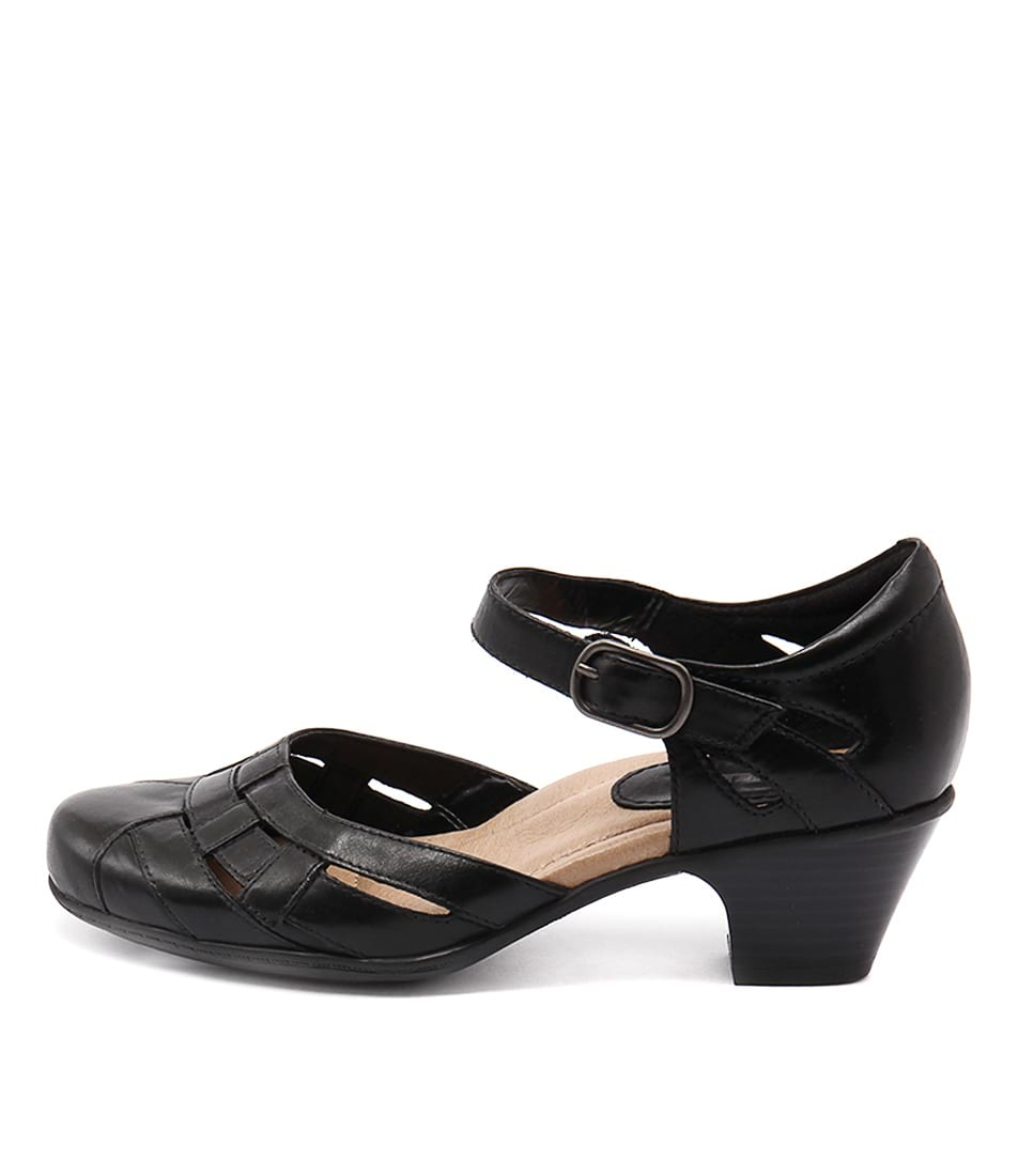 Earth Lynx Black Heeled Shoes