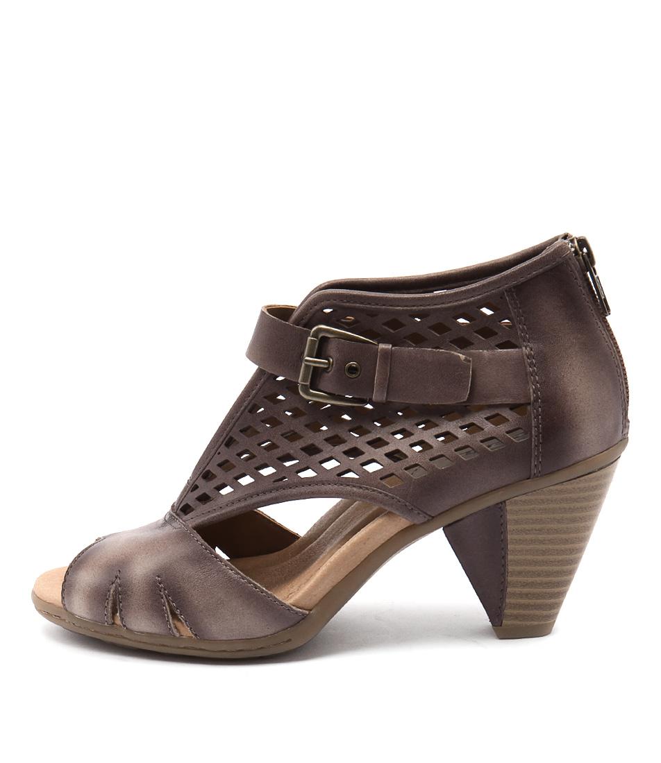 Earth Virgo Ea Beige Heeled Sandals