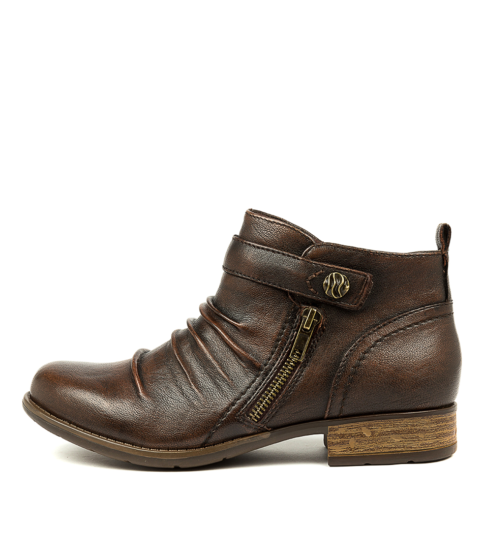 Buy Earth Brooke Ea Almond Ankle Boots online with free shipping