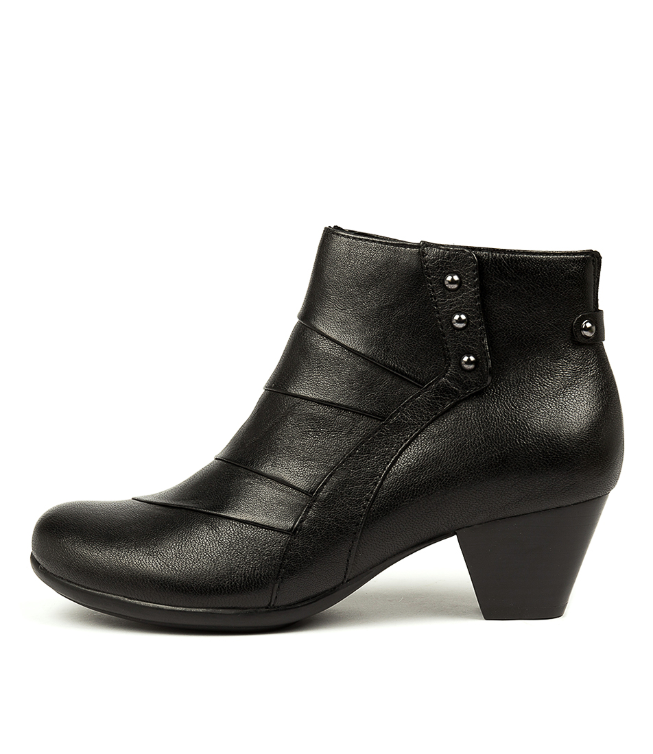 Buy Earth Hope Ea Black Ankle Boots online with free shipping