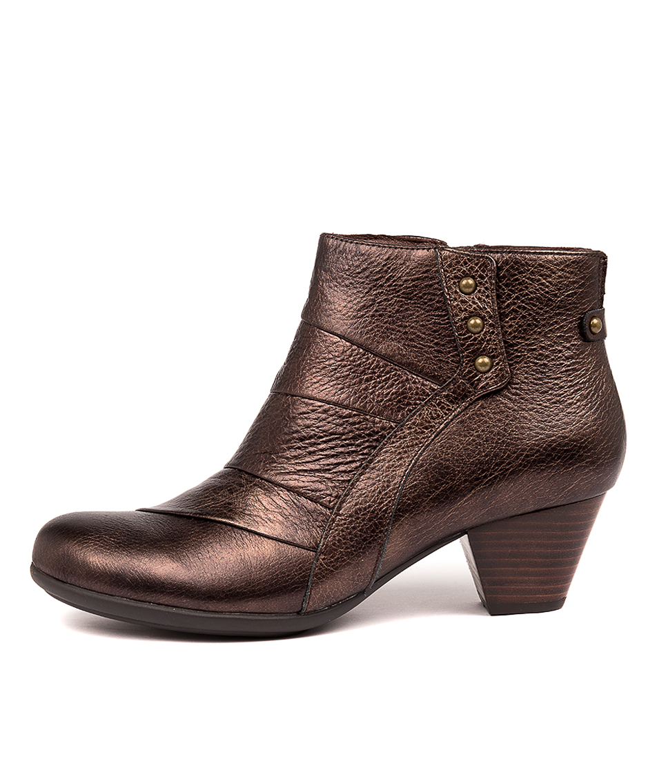 Buy Earth Hope Ea Bronze Ankle Boots online with free shipping