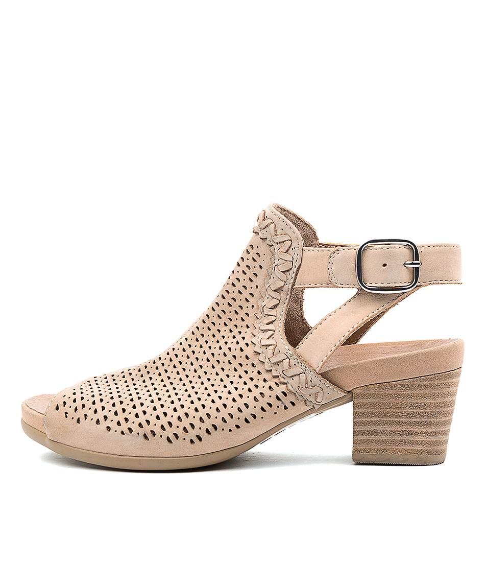 Buy Earth Syrah Ea Nude Heeled Sandals online with free shipping
