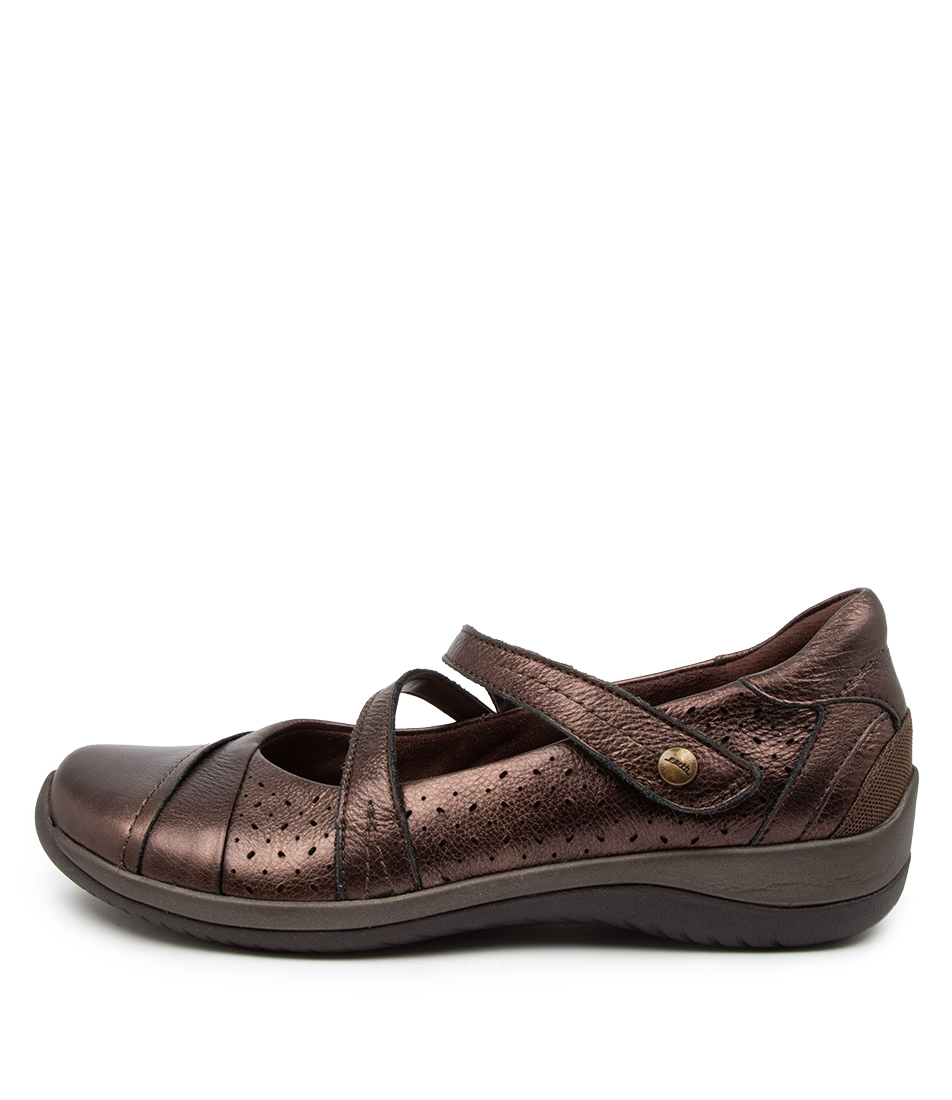 Buy Earth Galilei Ea Bronze Flats online with free shipping