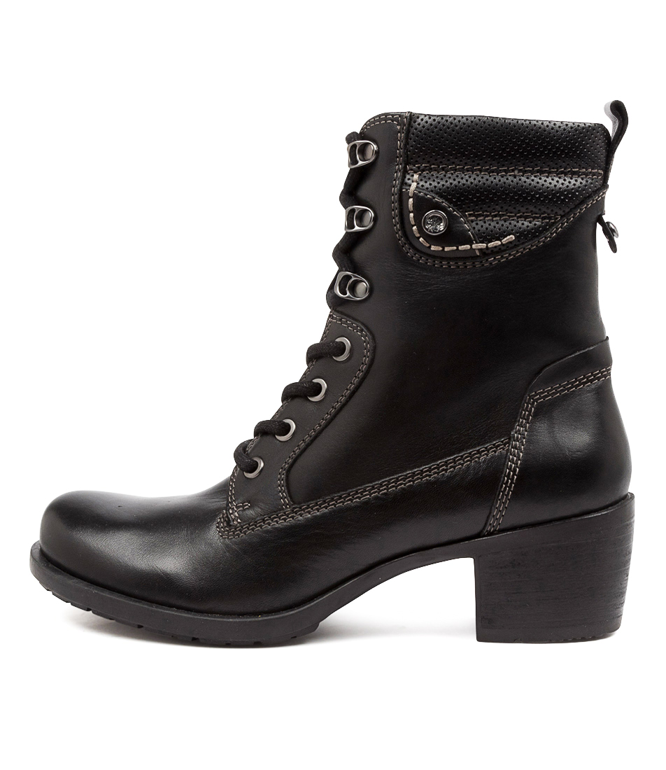 Buy Earth Anchor Ea Black Ankle Boots online with free shipping