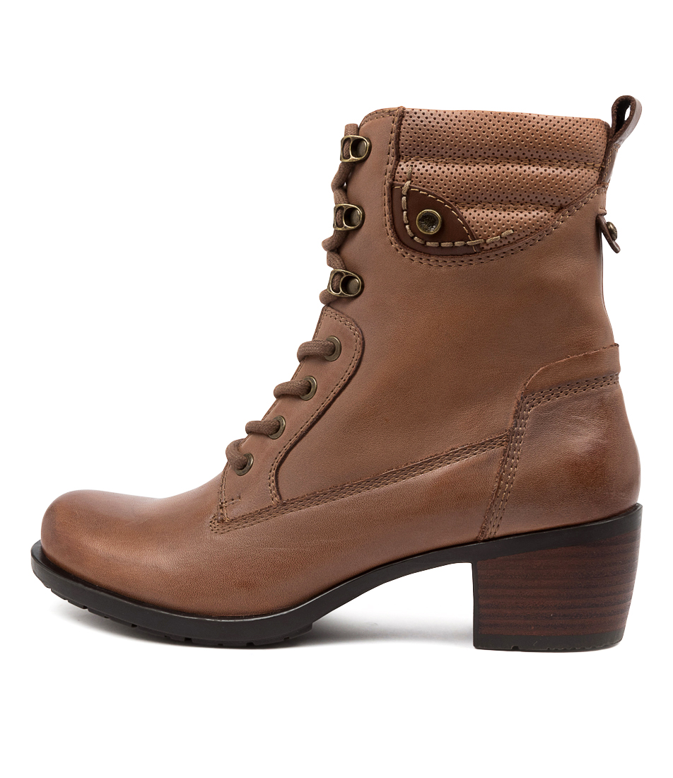 Buy Earth Anchor Ea Walnut Ankle Boots online with free shipping