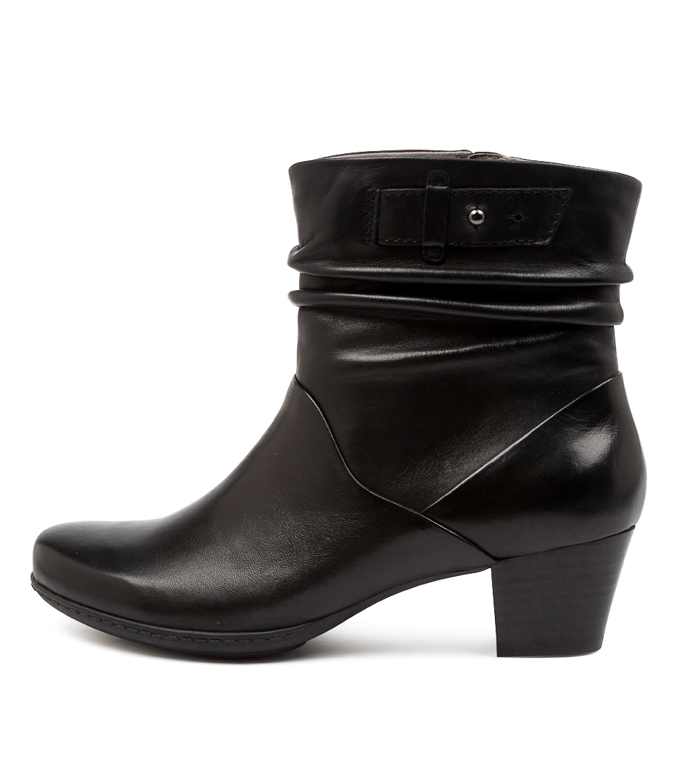 Buy Earth Winnipeg Ea Black Ankle Boots online with free shipping
