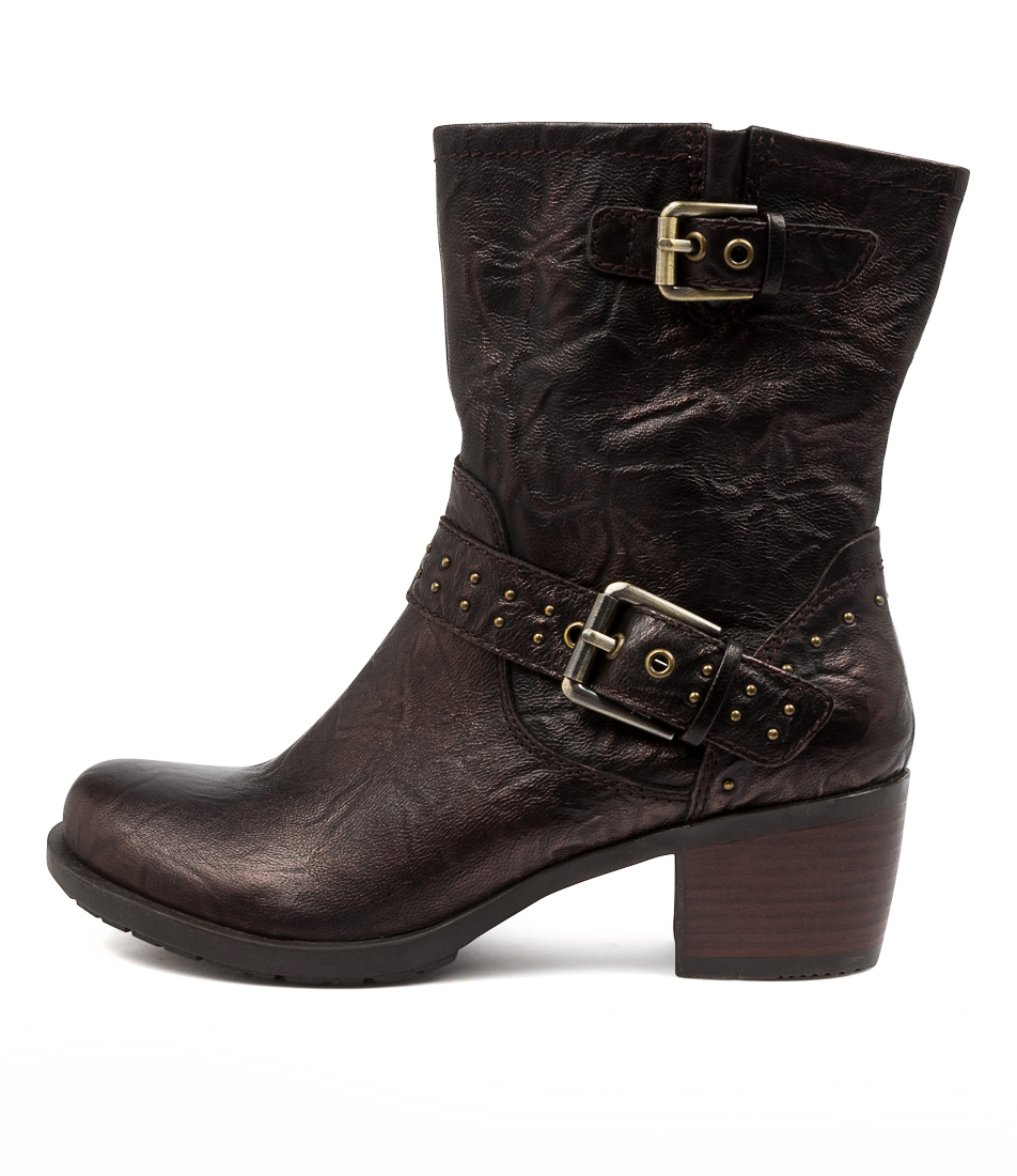 Buy Earth Altitude Ea Bronze Ankle Boots online with free shipping