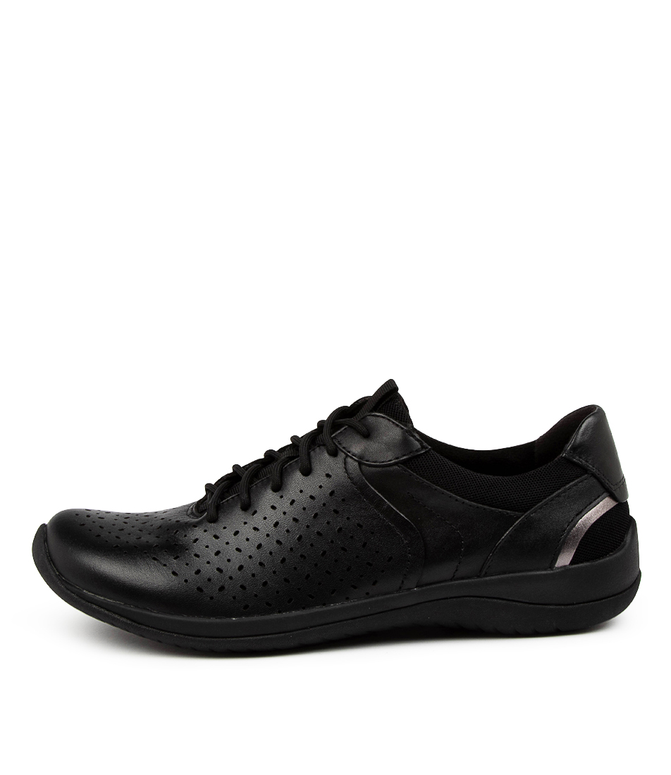 Buy Earth Kepler Wide Ea Black Sneakers online with free shipping
