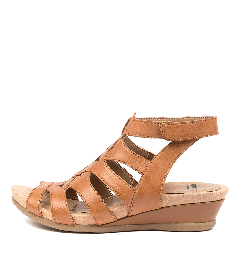 Buy Earth Chatham Ea Sand Brown Flat Sandals online with free shipping