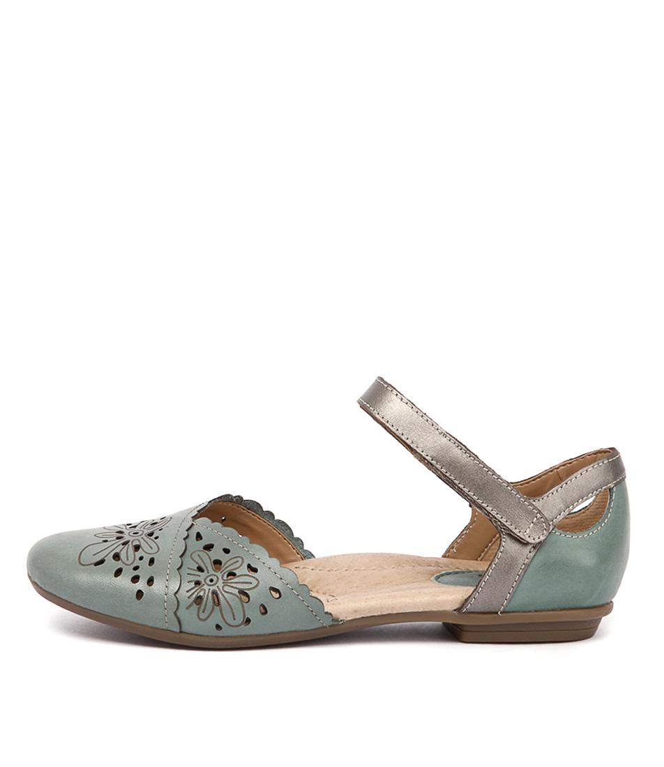 Earth Belltower Teal Casual Flat Shoes