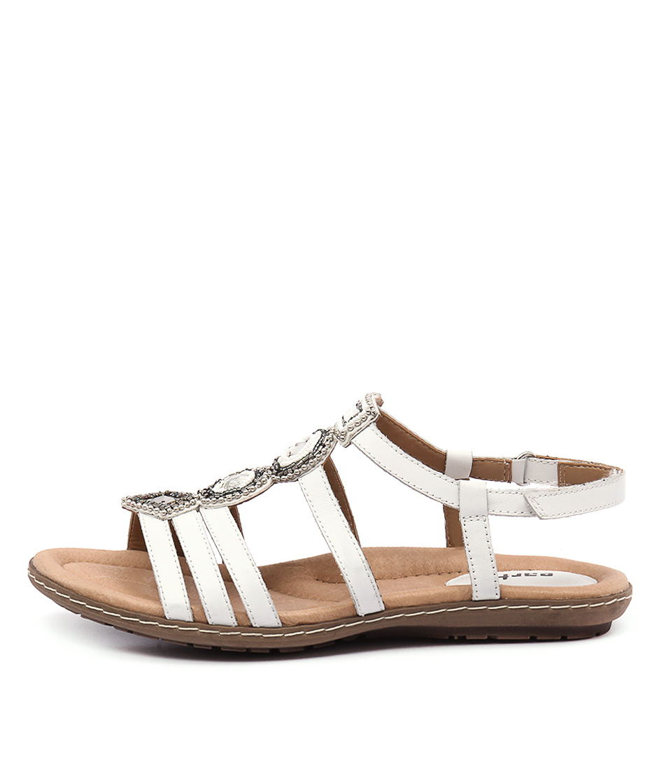 Earth Seaside White Sandals