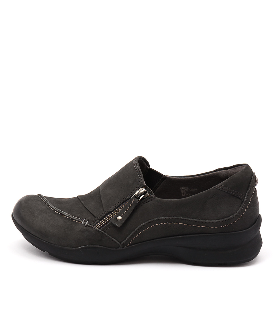 Earth Anise Grey Casual Heeled Shoes