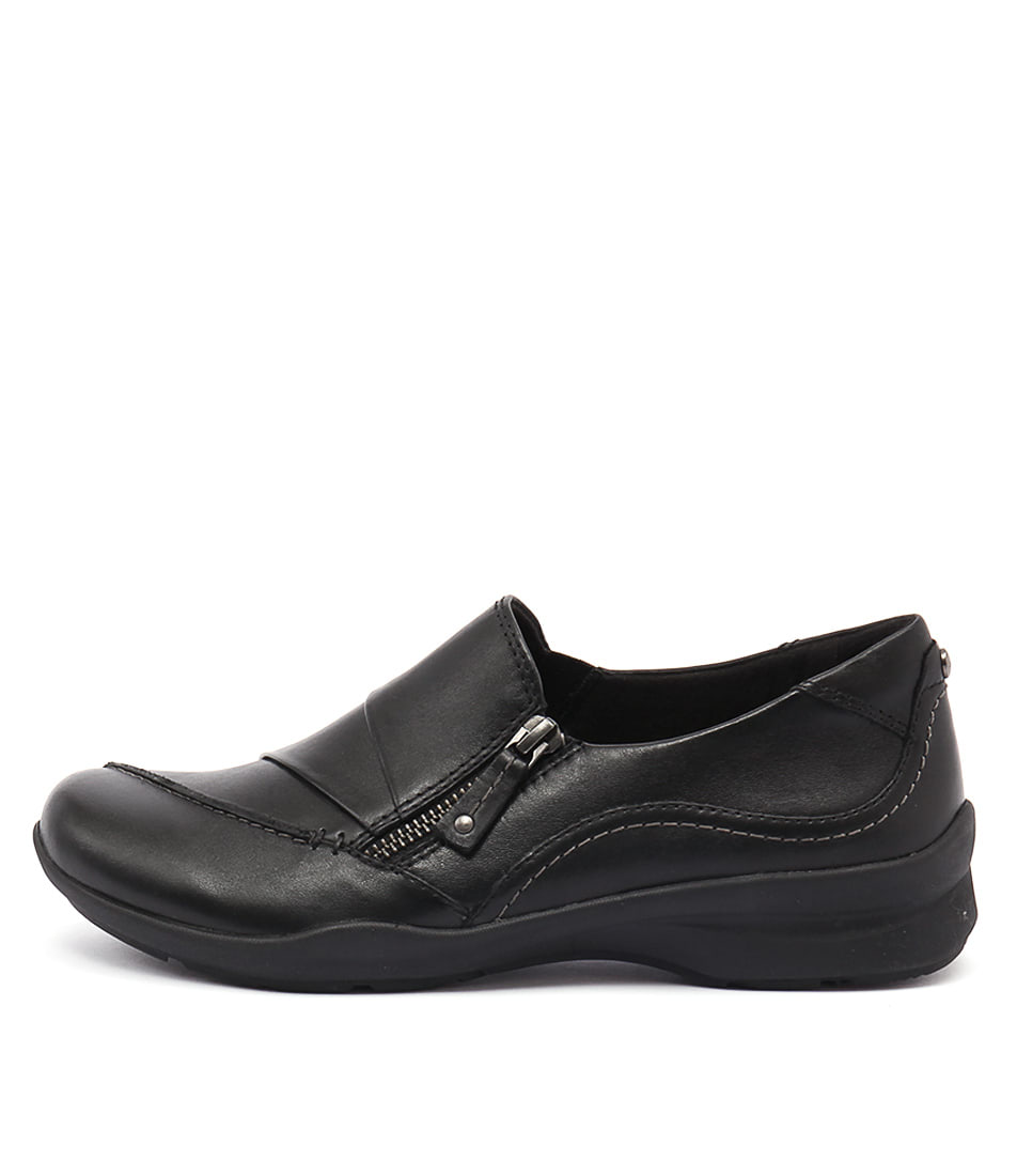 Earth Anise Black Heeled Shoes