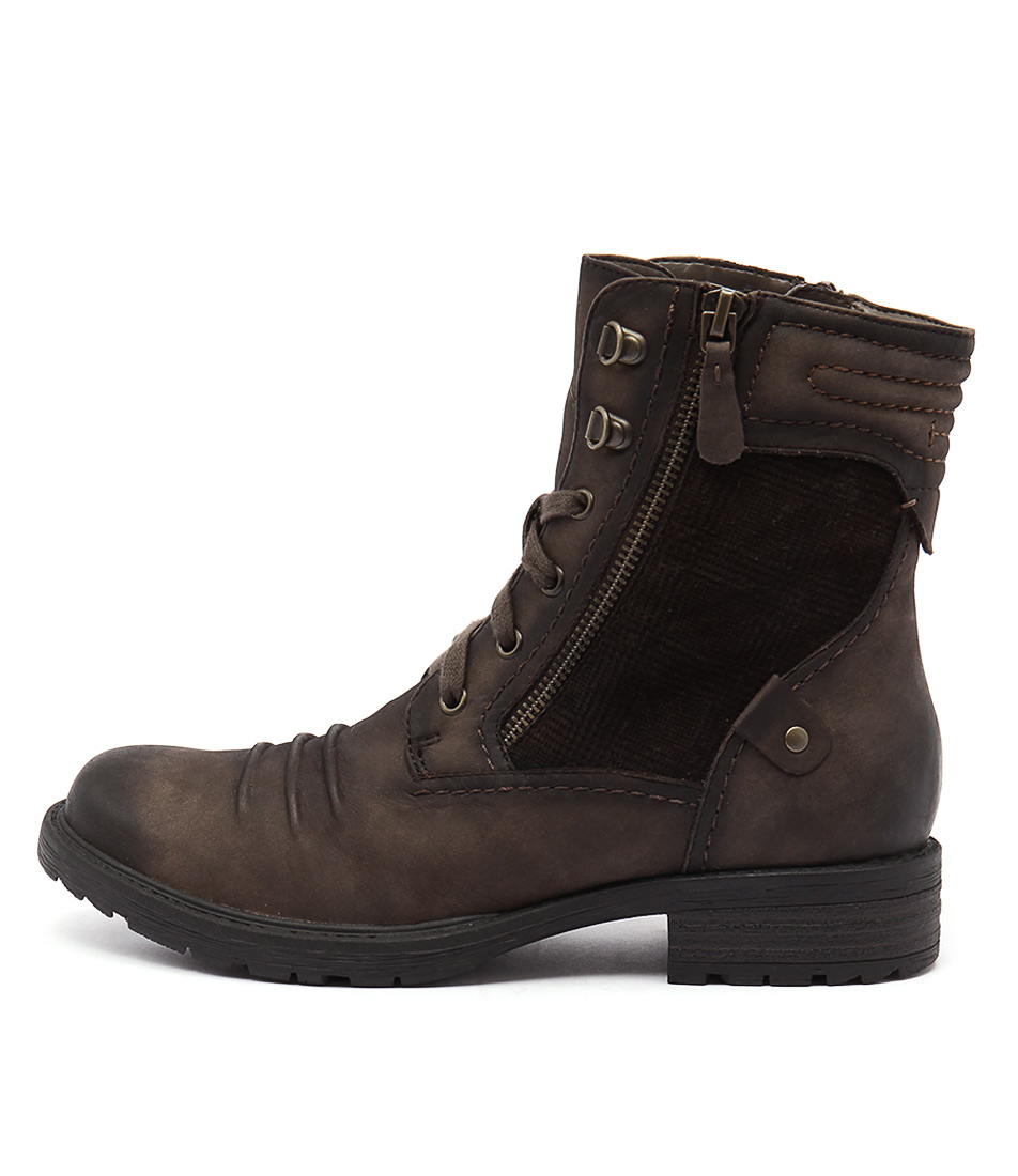 Earth Summit Ea Stone Casual Ankle Boots