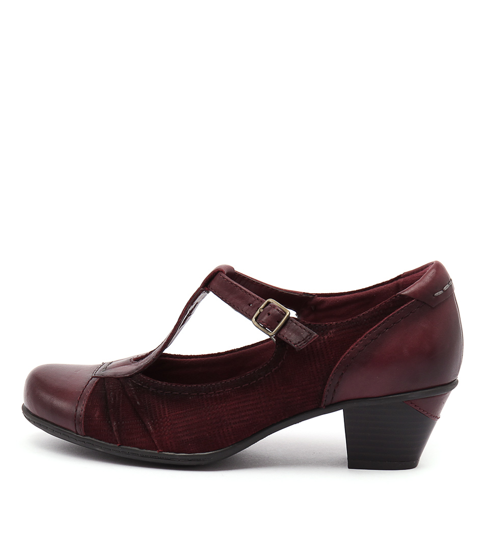 Earth Wanderlust Rosewood Heeled Shoes