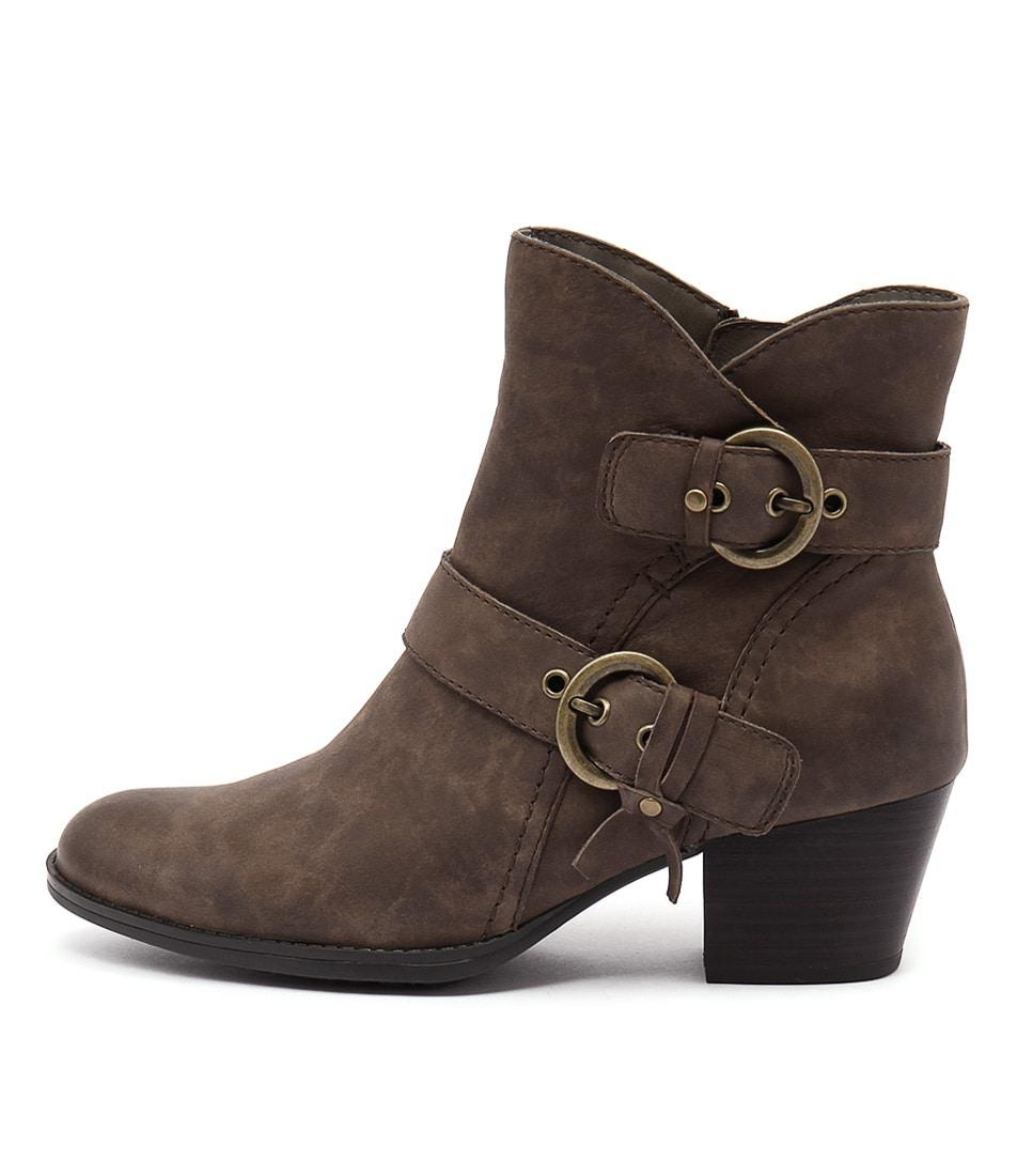 Earth Olive Ea Stone Boots