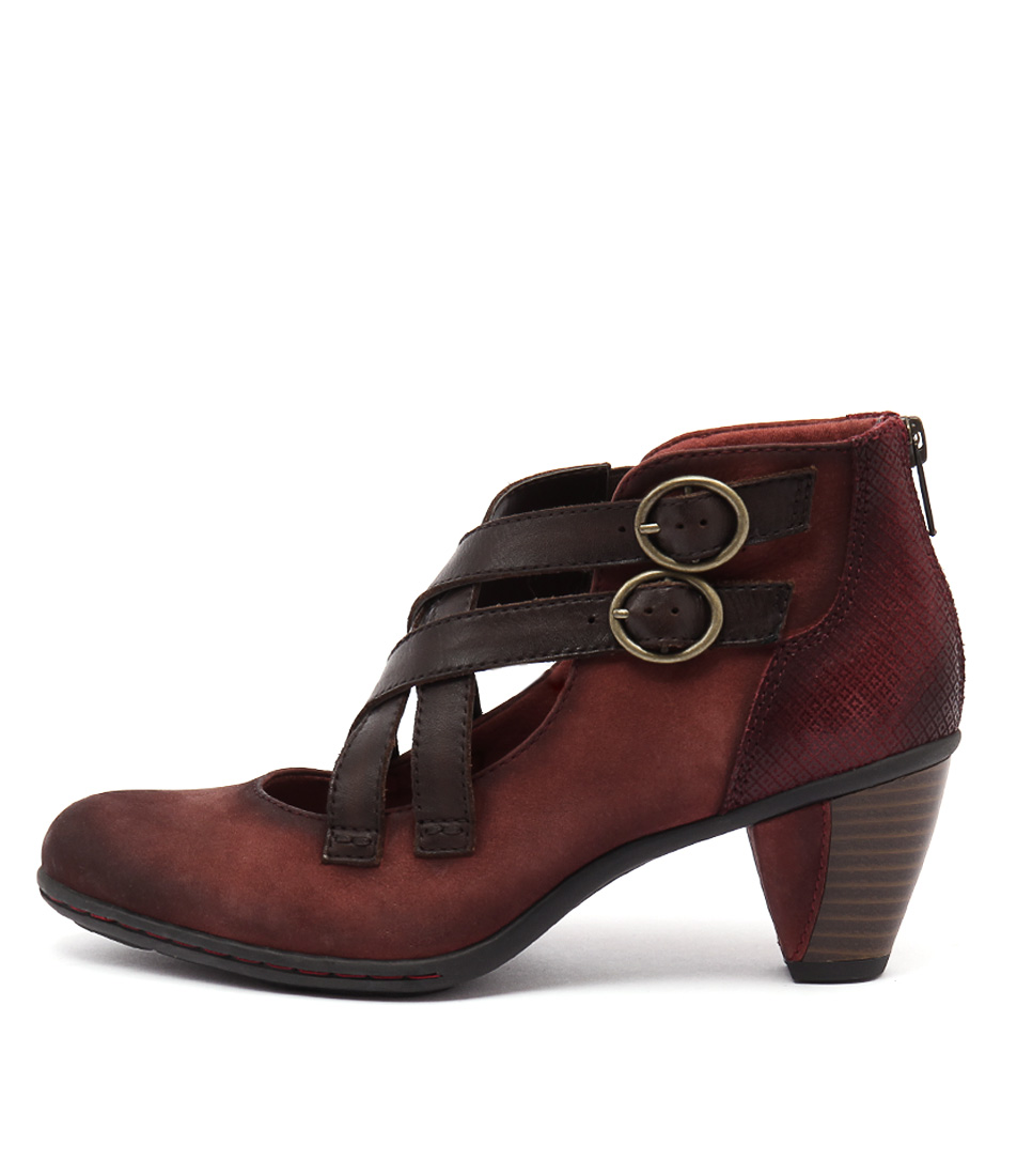 Earth Amber Ea Brick Heeled Shoes