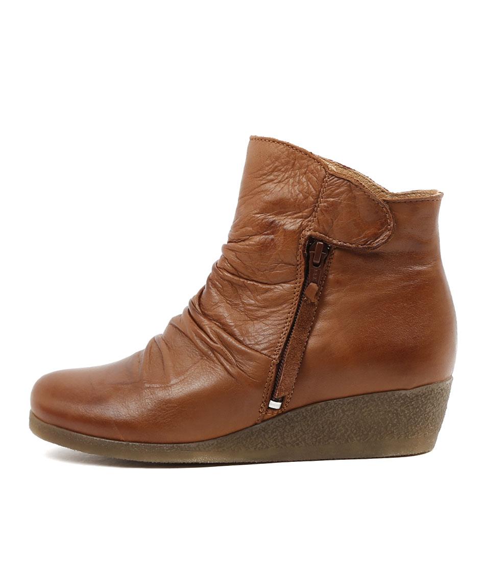 Effegie Ensoni W Brandy Comfort Ankle Boots