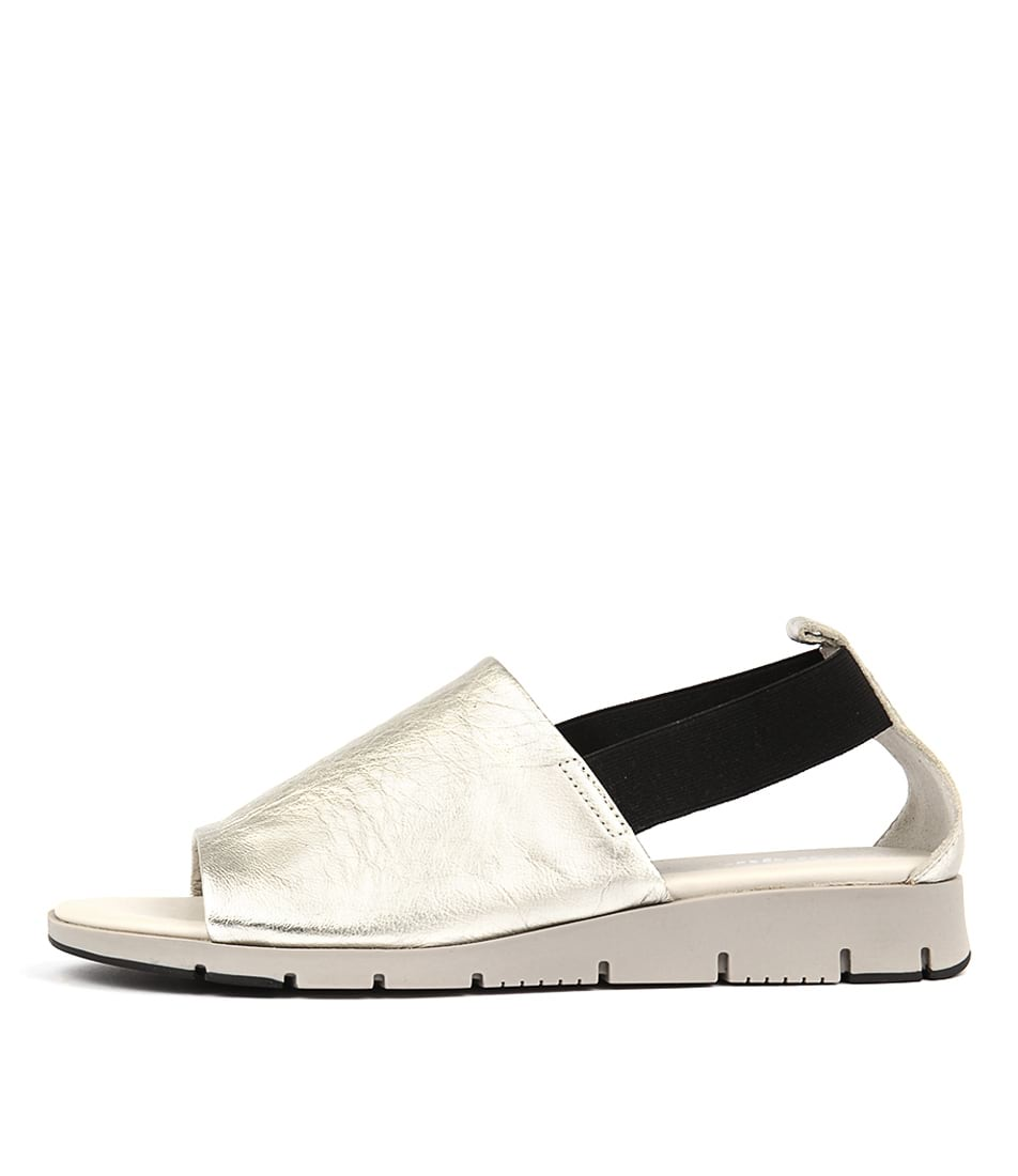 Photo of Effegie Aeris W SilverFlat Sandals womens shoes