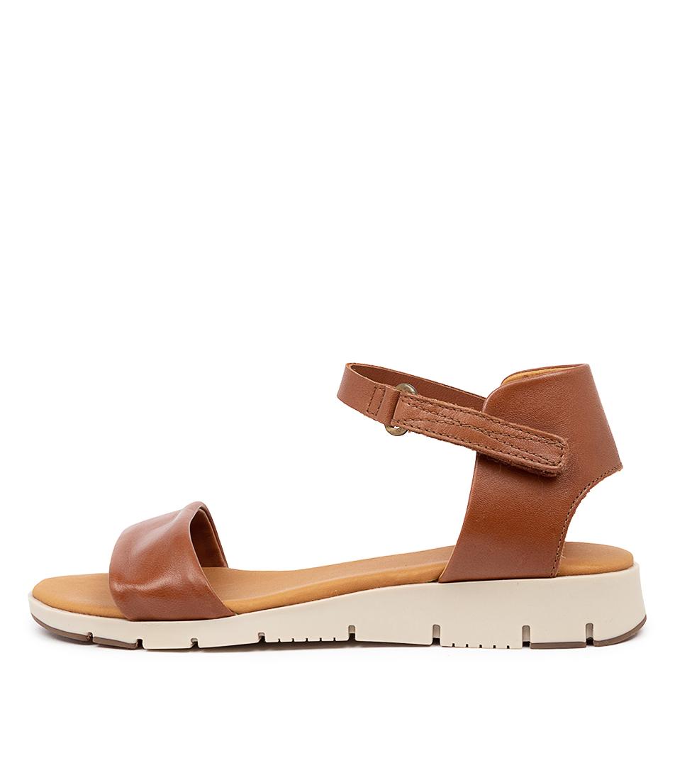 Buy Effegie Aeria W Brandy Sandals online with free shipping