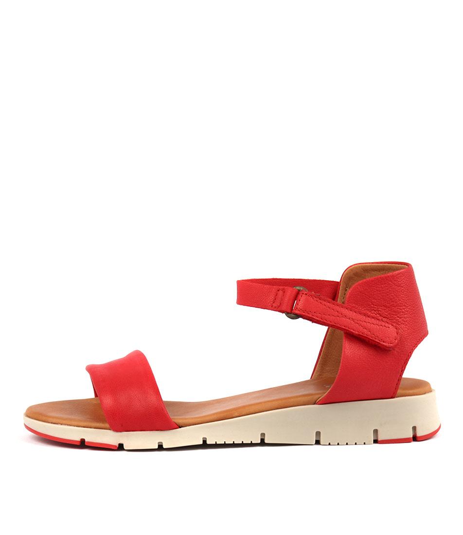 Effegie Aeria W Orange Sandals Womens Shoes Comfort Sandals