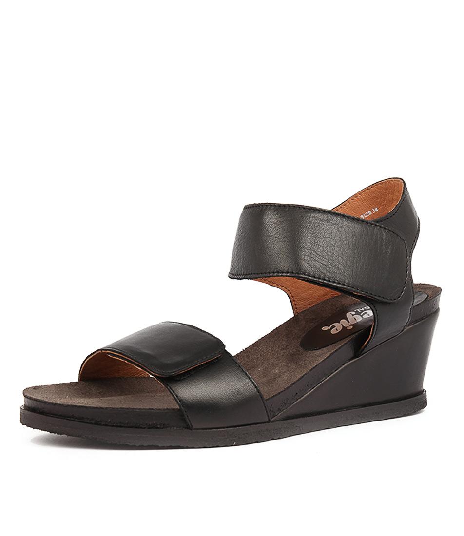 Effegie Isla W Black Sandals