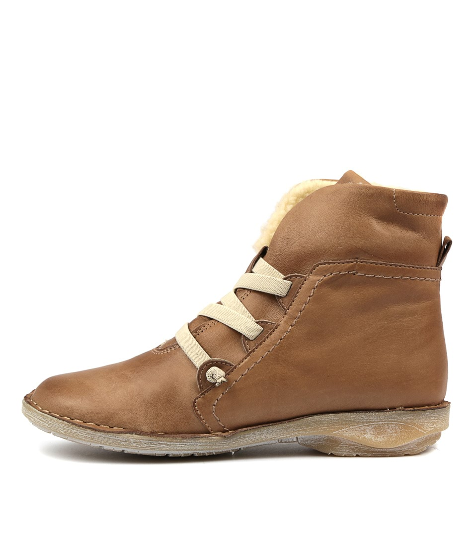 Buy Effegie Pan W Taupe Ankle Boots online with free shipping