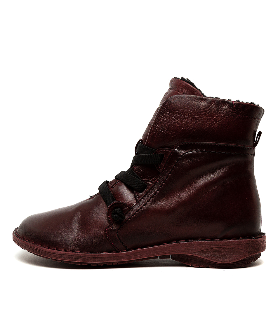 Buy Effegie Pan W Wine Ankle Boots online with free shipping