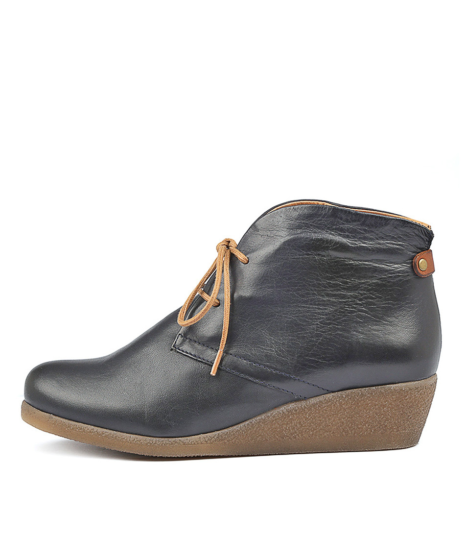 Buy Effegie Ensai W Navy Ankle Boots online with free shipping
