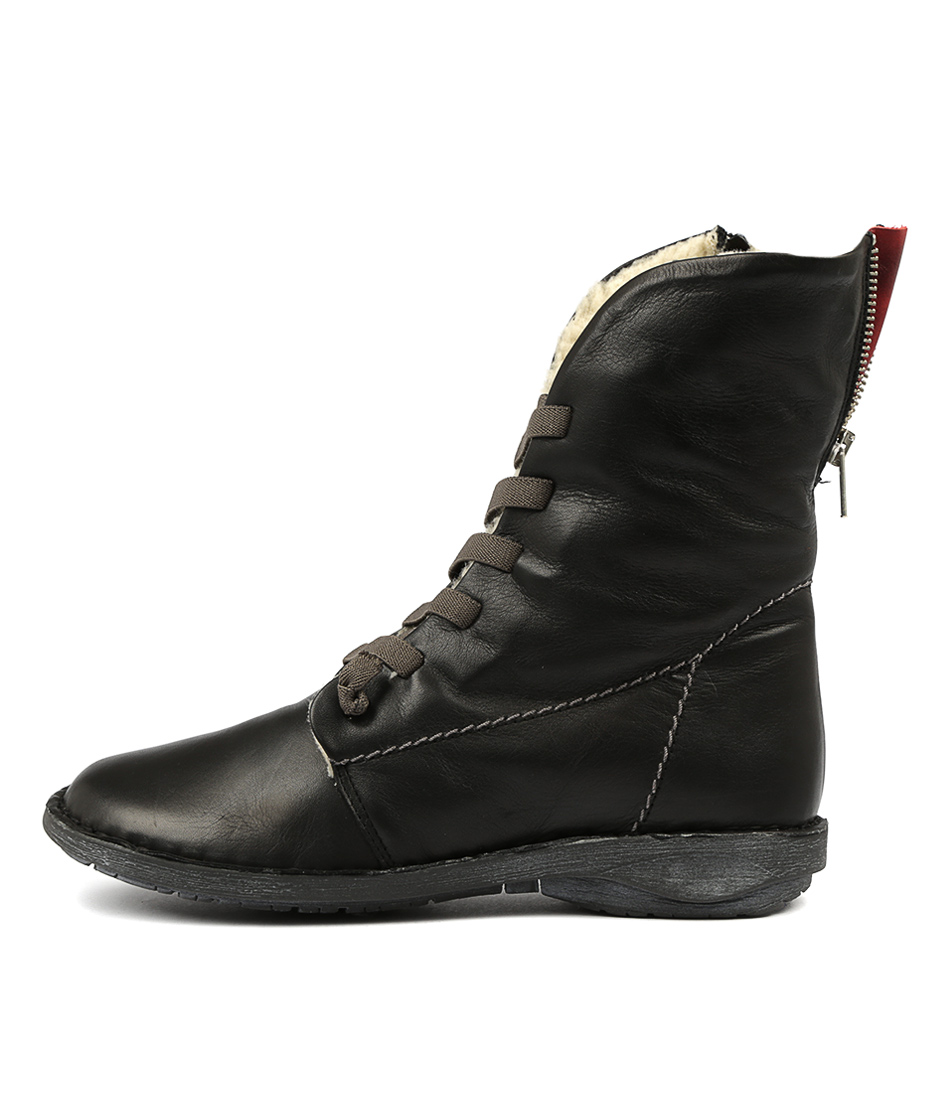 Buy Effegie Panama W Black Ankle Boots online with free shipping