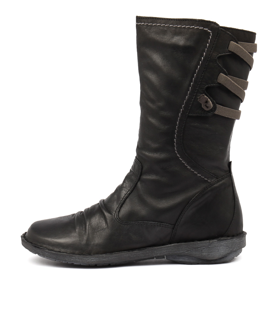 Buy Effegie Pandora W Black Calf Boots online with free shipping