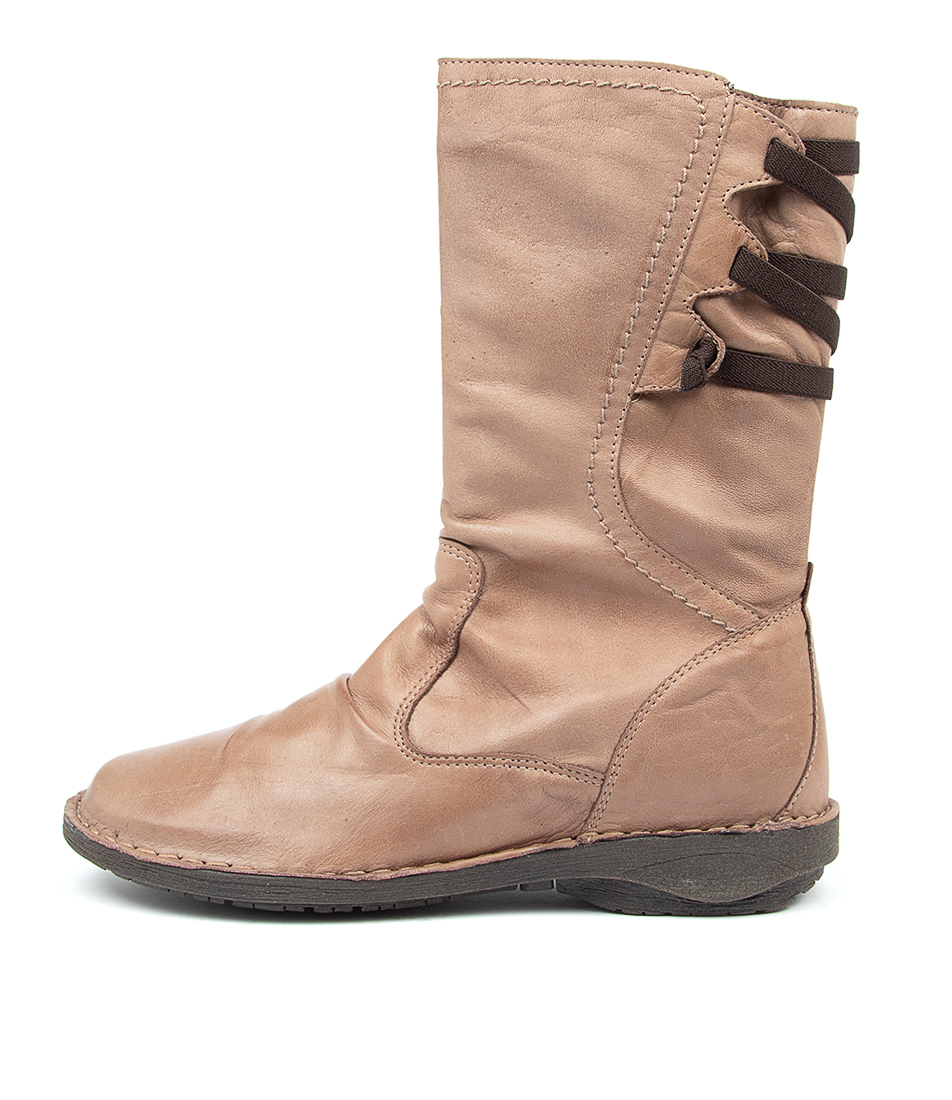 Buy Effegie Pandora W Taupe Calf Boots online with free shipping