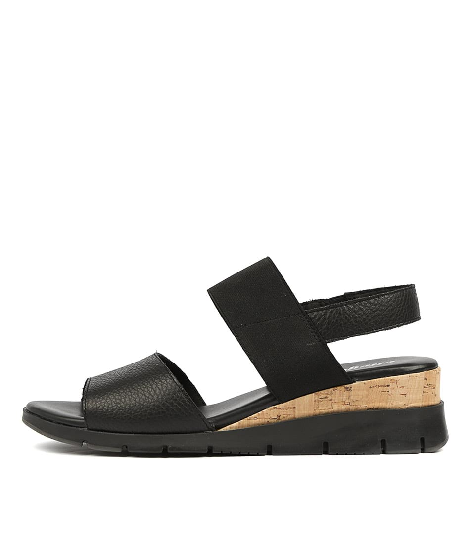 Buy Effegie Basque W Black Sandals Flat Sandals online with free shipping