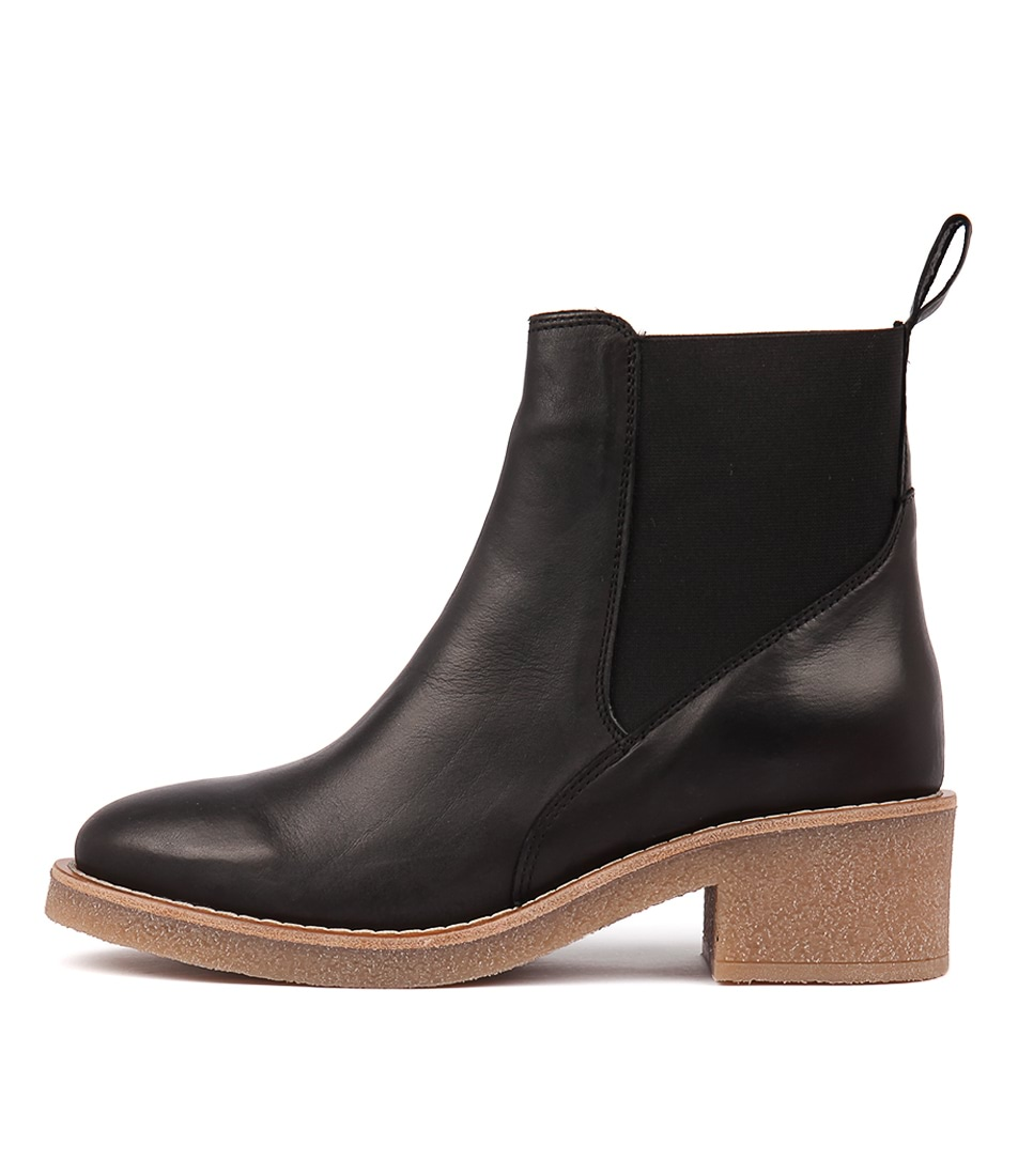 Effegie Beilo Black Ankle Boots