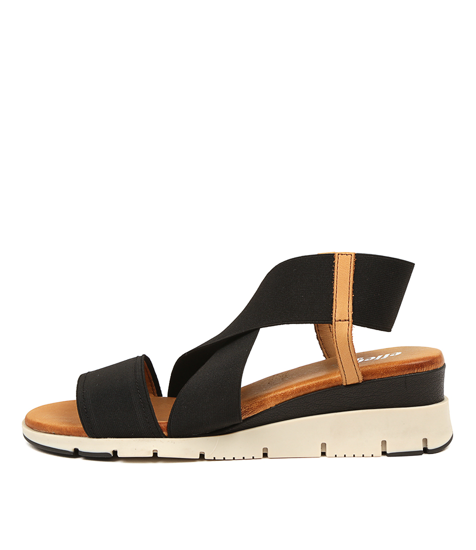 Buy Effegie Barcelona W Black Heeled Sandals online with free shipping