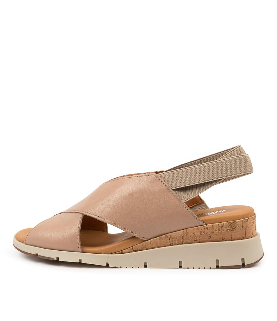 Buy Effegie Basquait W Sandshell Heeled Sandals online with free shipping